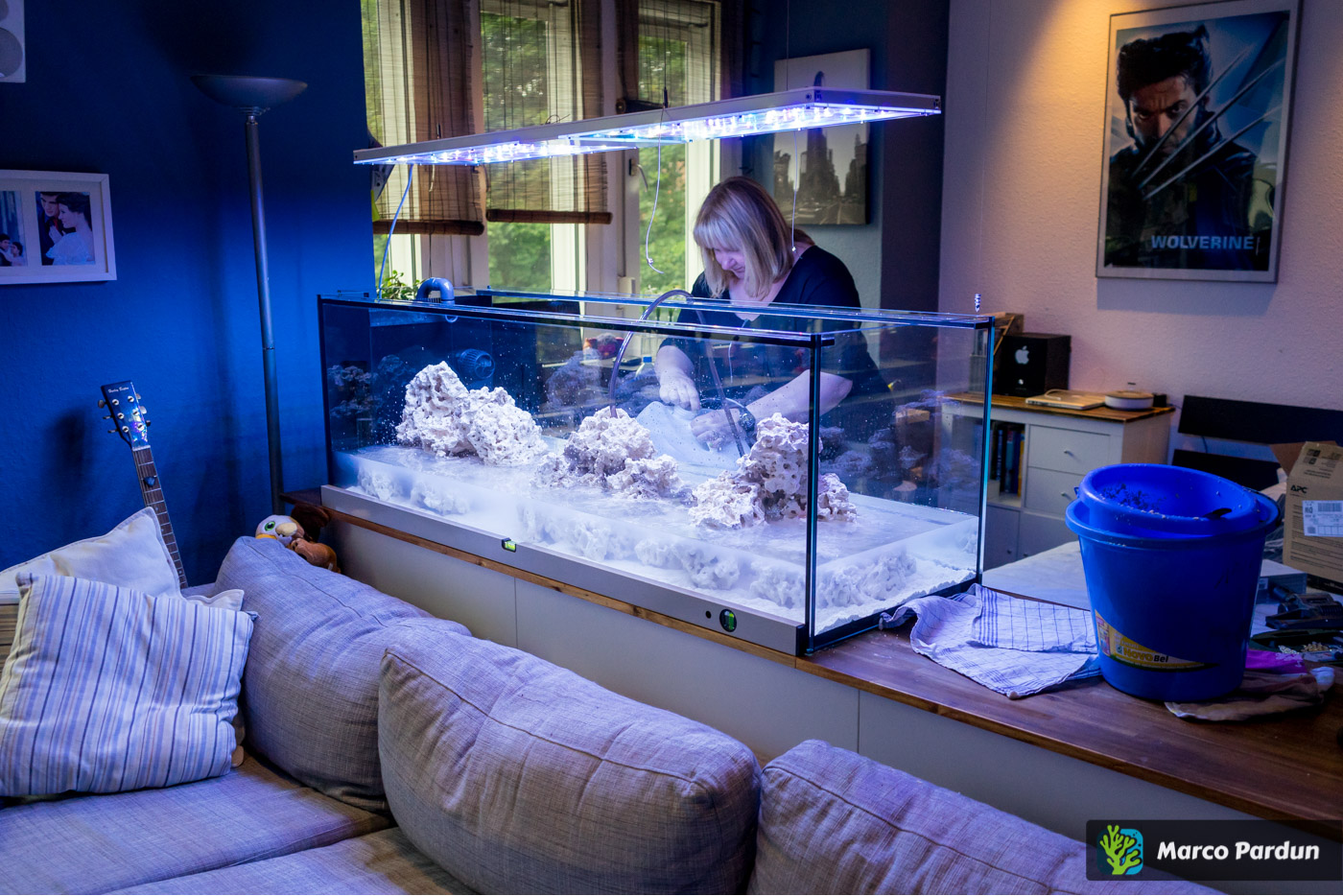 ein 400l raumteiler 150x50x50cm aquarium vorstellung reeftanks dein forum f r meerwasser. Black Bedroom Furniture Sets. Home Design Ideas